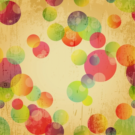 Retro Colorful Seamless Pattern Wallpaper Background Illustration contains transparency effects.  illustration