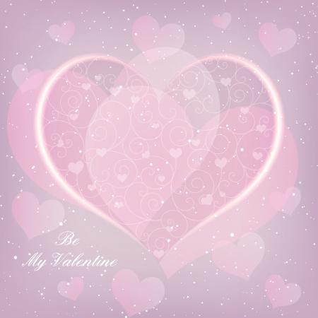 st valentine: En forma de coraz�n Tarjeta de felicitaci�n de San Valent�n D�a