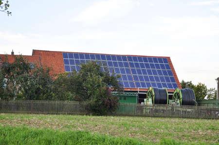 photoelectric: Renewed energy, modern technologies Stock Photo