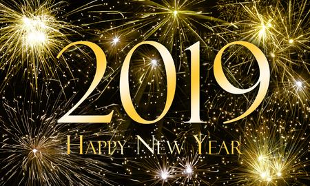 새해 복 많이 받기 2019 스톡 콘텐츠 - 89462168