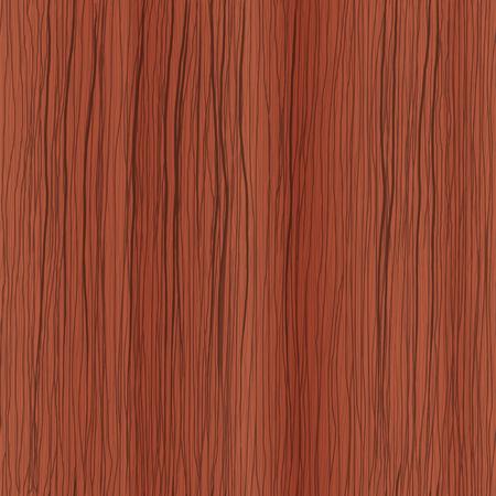 mahogany: Hand drawn wood seamless texture, mahogany. Illustration