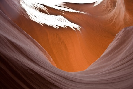 tribal park: Antelopes Canyon near page, the world famoust slot canyon in the  Antelope Canyon Navajo Tribal Park
