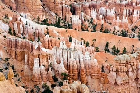 Unique and colorful hoodoo rock formations in the Bryce Canyon National Park, Utah amphitheatre photo