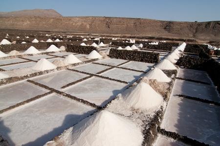 desalination: Salt Stock Photo