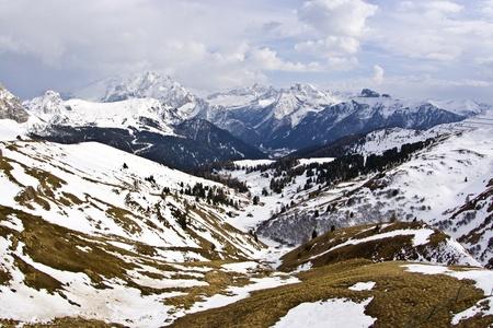 Italy, Dolomite mountains, Sella pass Stock Photo - 9172835