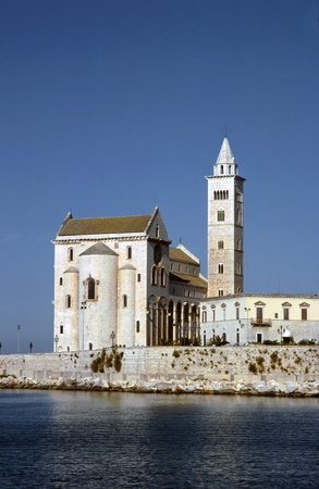 apulia: Cathedral on the sea. Trani. Apulia.