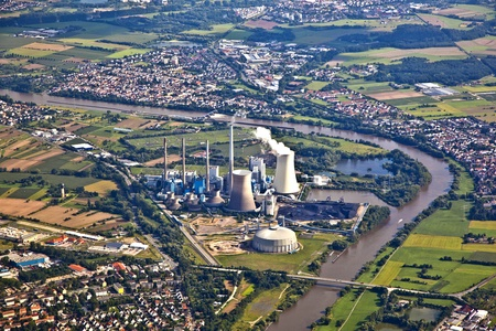 nuclear power plant Stock Photo - 9199011