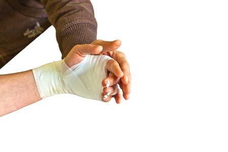 recover: hand physiotherapy to recover a broken finger