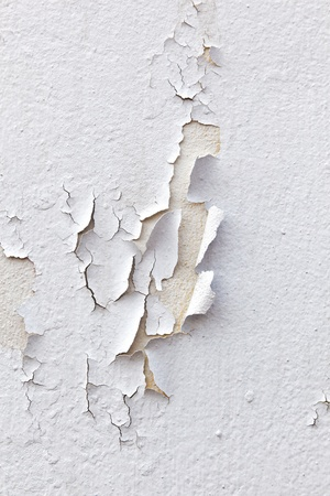 damages: pattern of old paint at the wall Stock Photo