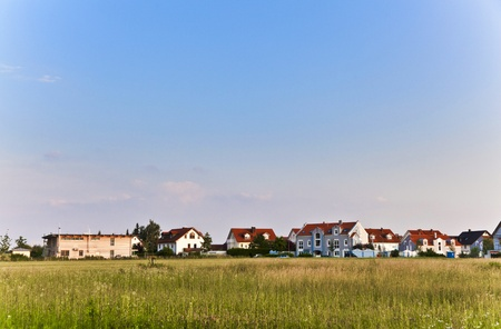 beautiful housing area in Munich in Nature Stock Photo - 9287063