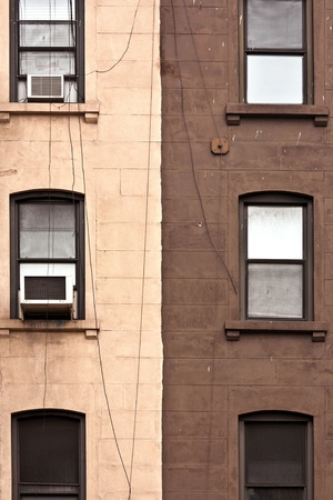 facade with window and black and white color Stock Photo - 9286369