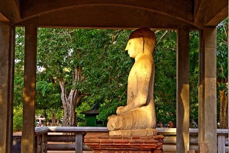 samadhi: Samadhi Buddah Statue, meditating Buddah, beauty and holiness, Sri Lanka Stock Photo