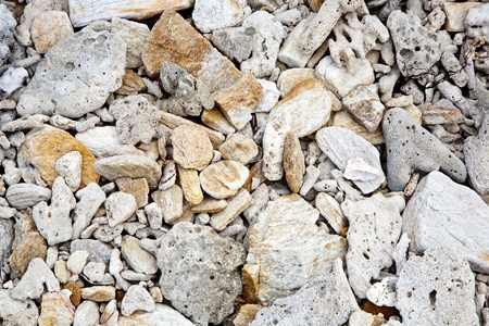 harmonic: beautiful structured stones at the beach in harmonic way gives an impression of nature as artist