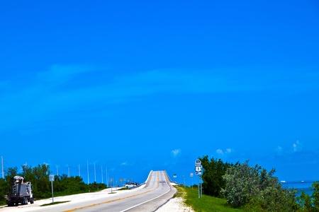 bridge in the Florida Keys photo