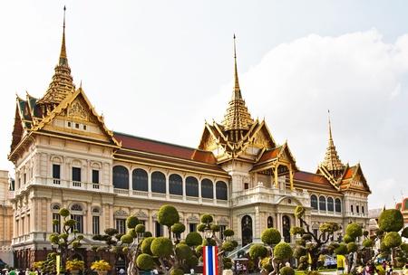 Chakri Maha Prasat in the Great Palace in Bangkok photo
