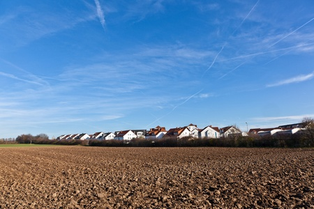 acre: housing area near the boundary with acre