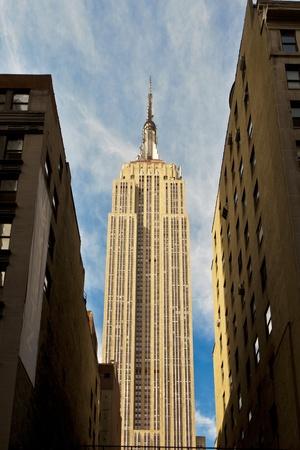 empire state building: Empire State Building in New York