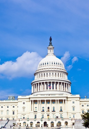politic: US Capitol in Washington DC Stock Photo