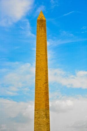 Washington Monument in the center of Washington DC Stock Photo - 9374930