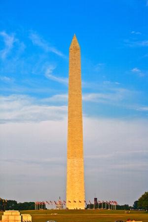 Washington Monument in the center of Washington DC Stock Photo - 9374923