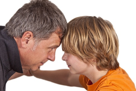father and son hugging the other photo