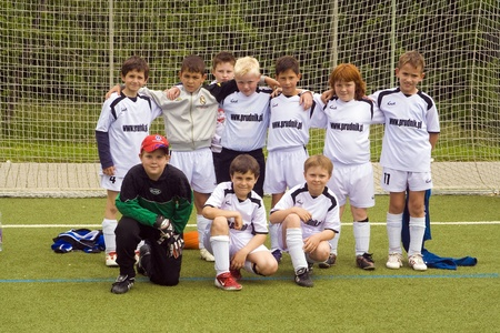 SCHWALBACH, GERMANY - MAY 19:  Football game Children E-Class BSC Schwalbach,Team , May 19, 2007 in Schwalbach, Germany