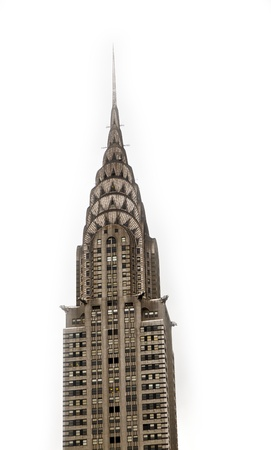 chrysler building: NEW YORK, USA – JULY 7: Facade of the Chrysler Building in the afternoon in bright sun on July 7,2010 in New York, USA.