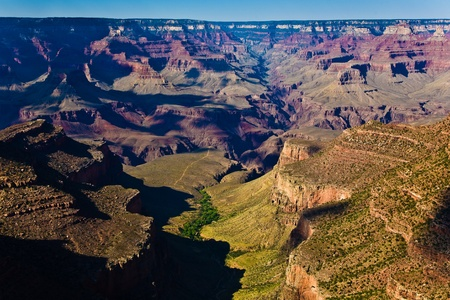 view to the Grand Canyon from Grand Canyon Village photo