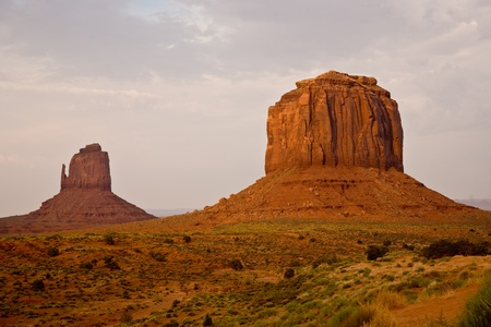 Striking Landscape in Monument Valley, Navajo Nation,\ Arizona