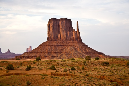 Striking Landscape in Monument Valley, Navajo Nation, Arizona Stock Photo - 9543784
