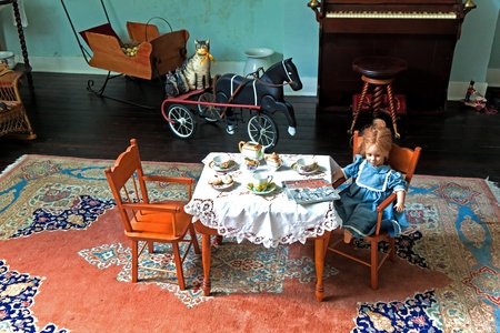WILMINGTON, USA - JULY 20: visiting the famous Latimer House in Wilmington, open to public on July 20, 2010 in Wilmington, USA. House was built by merchant Zebulon Latimer in 1852.