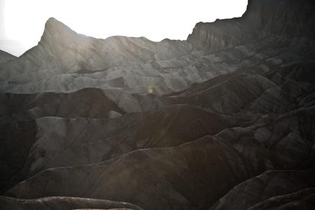 Zabriskie Point in Death Valley, located on Highway 190 near Furnance Creek Ranch photo