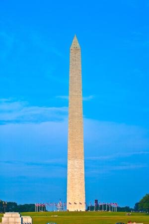 Washington Monument in the center of Washington DC Stock Photo - 9692566