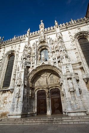 beautiful Jeronimos Monastery in Lisbon, Belem Stock Photo - 9747272