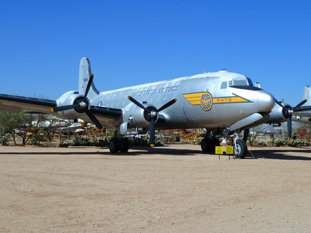 pima: TUSCON, USA - MAY 13: visiting the Pima Air and space Museum at the may 13, 2011 in Tuscon, USA. Pima Air museum is one of the largest aviation museums in the world and maintains a collection of more than 300 aircrafts. Editorial