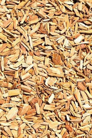 wood shavings on the floor photo