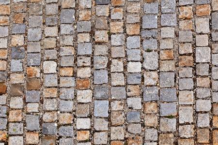 the cobblestones: cobble stone path Stock Photo