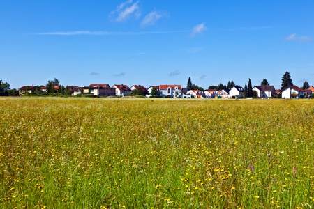 housing area in rural landscape near Munich Stock Photo - 9973350