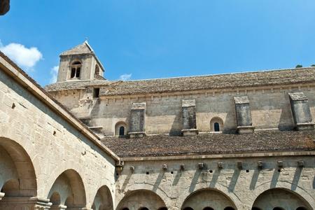 Cloister of Senanque Abbey, Vaucluse, Gordes, Provence, France