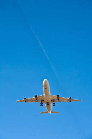 aircraft in landing approach Stock Photo - 10528155