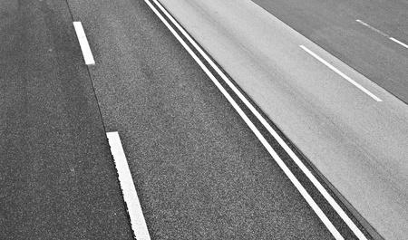 autopista: textura de carretera de asfalto