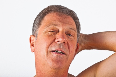 portrait of attractive man  photo
