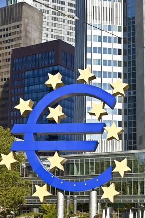 The European Central Bank (ECB) on a sunny day, Frankfurt am Main, Germany Stock Photo - 10741718