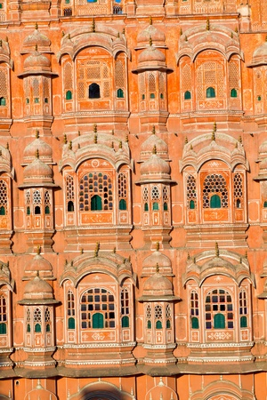 Hawa Mahal, the Palace of Winds, Jaipur, Rajasthan, India. photo