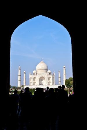 love dome: Taj Mahal in India Editorial