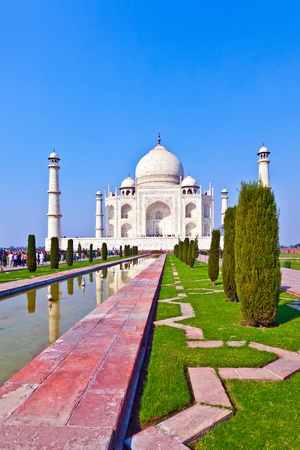 Taj Mahal in India Stock Photo - 11287079