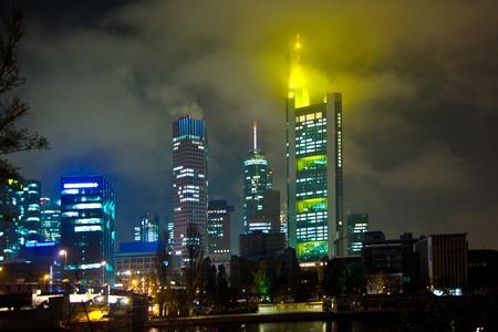 Frankfurt am Main by night
