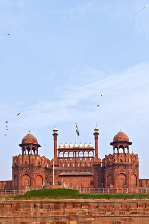 India, Delhi, the Red Fort, it was built by Shahjahan as the Delhi citadel of the 17th Century