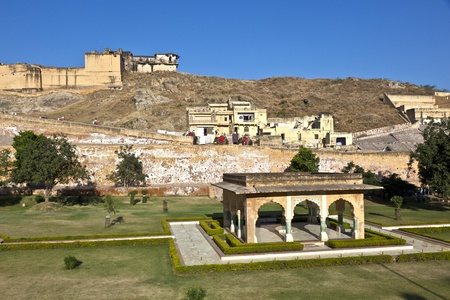 famous Amber Fort in Jaipur, India. Stock Photo - 11499736
