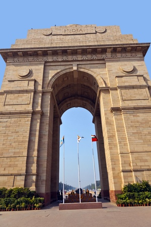 famous india gate in Delhi